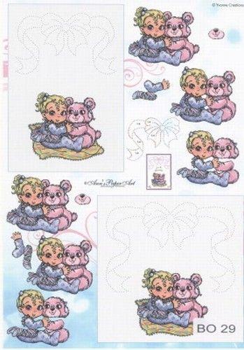 Anne Design knipvel/borduren kinderen BO 29 (Locatie: 4749)