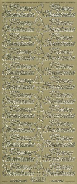 Doodey stickervel van harte beterschap goud DD1501 (Locatie: i223)