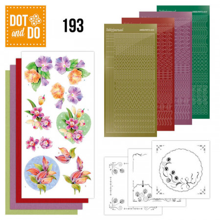 Dot and Do 193 Orchid DODO193