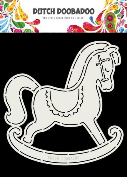 Dutch Doobadoo Card Art Schommelpaard A5 stencil 470.713.766 (Locatie: 1441)