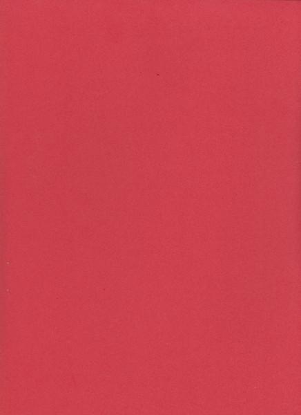 Foam rubber A4, 2mm dikte, rood
