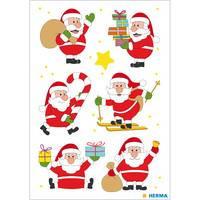 Herma stickers kerstman 3 vel 15237 (Locatie HE028)