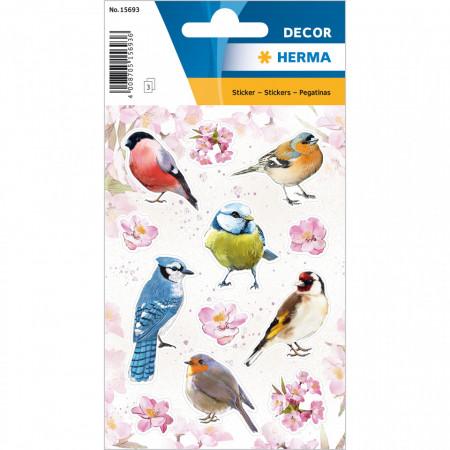 Herma stickers vogels 3 vel 15693 (Locatie: HE063)