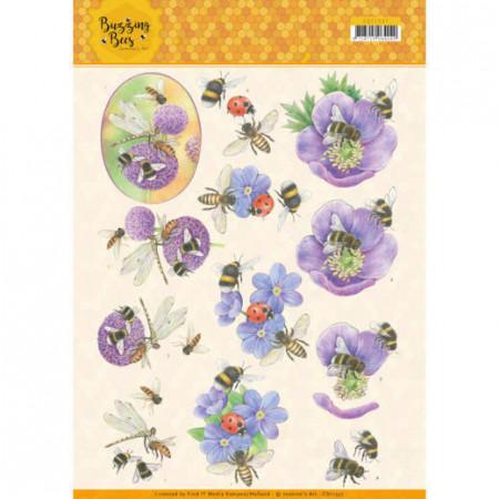 Jeanine's Art knipvel bijen CD11337 (Locatie: 4622)