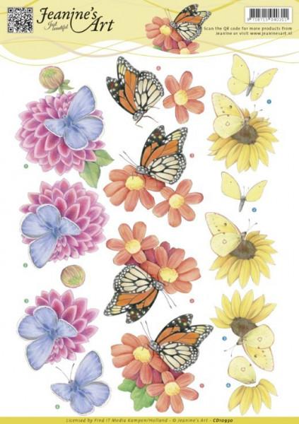 Jeanine's Art knipvel vlinders CD10930 (Locatie: 4648)