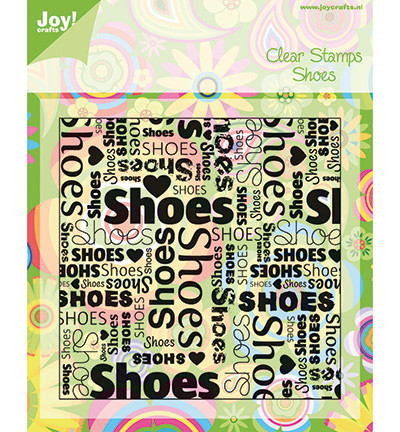 Joy! Crafts Clear stamps Shoes 6410/0028 (Locatie: nn039)