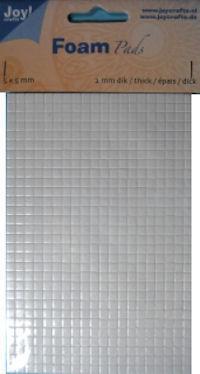 Joy! Foam pads 2 mm dik - 5x5 mm 6500/0003