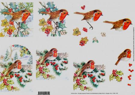 Knipvel vogels 11055-032 (Locatie: 2823)