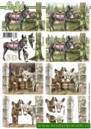 Le Suh knipvel ezels 8215455 (Locatie: 4223)