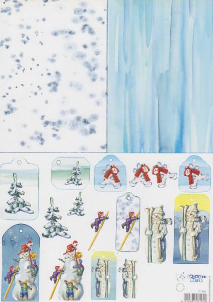 Marianne Design knipvel winter IT454 (Locatie: 1426)