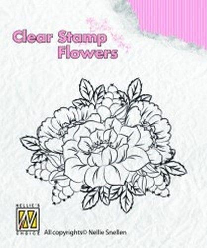 Nellie Snellen clear stamp Kingcups FLO012 (Locatie: NN282 )