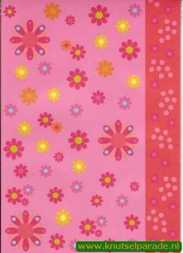 Pergamano vellum bloemen nr. 61774 (Locatie: 1733)