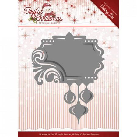 Precious Marieke snijmal Label Ornament PM10107 (Locatie: k146)
