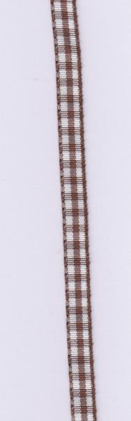 Rayher lint 6,3 mm donker bruin 10 meter 55 407 05 (Locatie: k3)