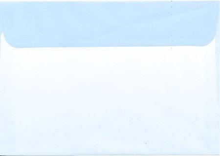 Regenboogenvelop blauw C6 (Locatie: k3)