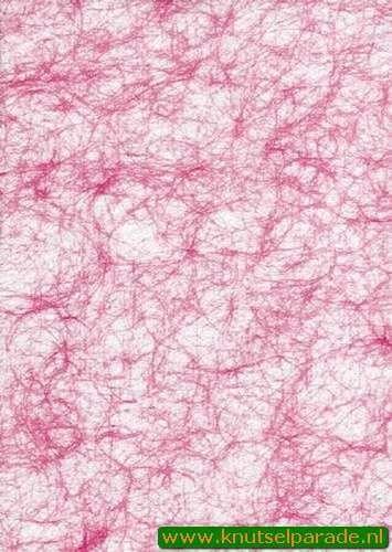 Spinnenweb papier roze A4 29995/03 (Locatie: 6334)