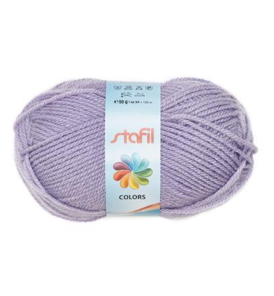 Stafil wol, lila, 50 gram, 133 meter