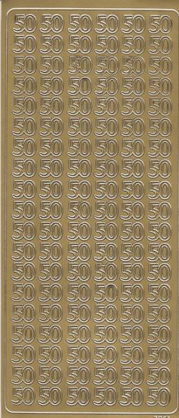 Stickervel goud 50 (Locatie: g316)
