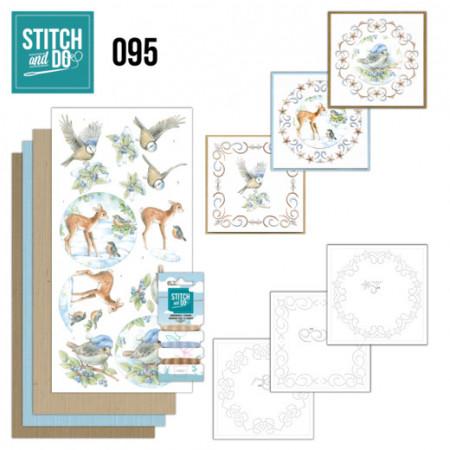 Stitch and Do 95 Winter Wonderland STDO095