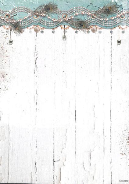Studio Light Achtergrond papier dubbelzijdig A4 Summer Feelings BASISSF238 (Locatie: 5616)