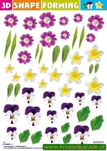Studio Light Shape Forming bloemen 3DSHAPEFORMSL23 (Locatie: 119)