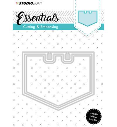 Studio Light snij- en embosmal Essentials nr.122 STENCILSL122 (Locatie: M059)