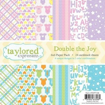 Taylored Expressions Paperpack 15x15 cm Baby TEPP108 (Locatie: s2)