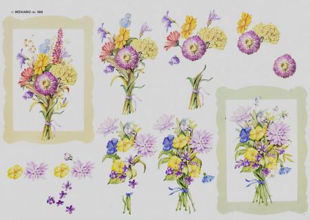 Wekabo knipvel bloemen 506 (Locatie: 4540)