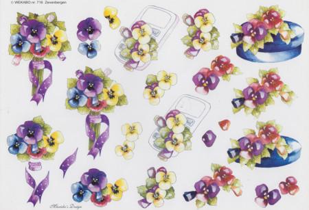 Wekabo knipvel bloemen 716 (Locatie: 2332)