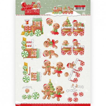 Yvonne Creations knipvel Sweet Christmas CD11373 (Locatie: 2577)