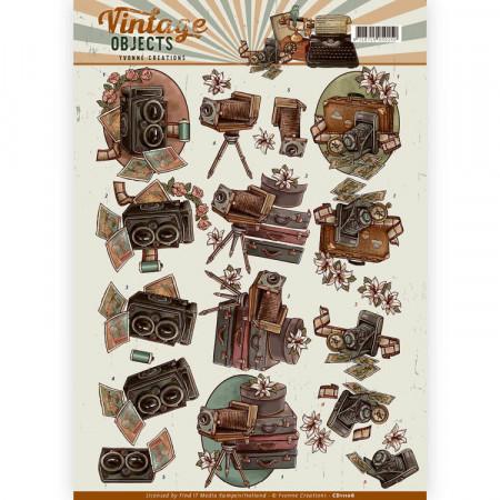 Yvonne Creations knipvel vintage objects CD11106 (Locatie: 1541)