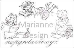 Marianne Design clear stamp Little Sweethearts TC0818 (Locatie: I383 )