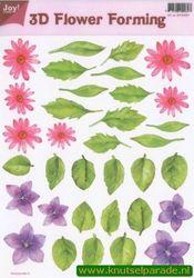 Joy Crafts 3D Flower forming transparant 6018 0001 (Locatie: 1563)