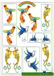 Marianne Design vogels knipvel IT554 (Locatie: 0107)