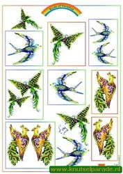 Marianne Design vogels knipvel IT 555 (Locatie: 0108)