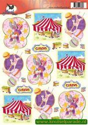Voorbeeldkaarten merel design circus 2385 (Locatie: 6630)