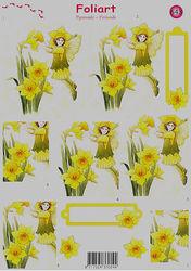 Foliart knipvel bloemen 643 (Locatie: 826)
