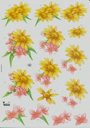 Wekon knipvel bloemen JW3 (Locatie: 4742)
