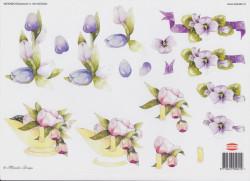 Wekabo knipvel bloemen 901/AD5004 (Locatie: 0228)