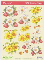 Romak knipvel bloemen P000031 (Locatie: 2718)