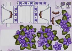 Mireille knipvel bloemen 054 (Locatie: 2215)