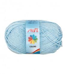 Stafil wol, licht blauw, 50 gram, 133 meter