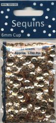 Sequins Regular Gold Cup 12212 1202 (Locatie: 1d )