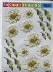 3D Shape Forming bloemen 3Dshapeforms35 (Locatie: 6822)