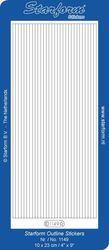 Starform sticker velvet lijnen light blue 1149 (Locatie: B349)