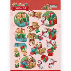 Amy Design knipvel kerstmis huisdieren CD11526 (Locatie: 5021)