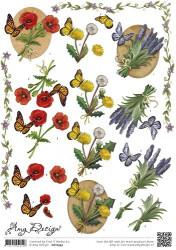 Amy Design knipvel vlinders CD10593 (Locatie: 0718)