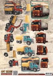 Amy Design knipvel vrachtwagen CD10848 (Locatie: 1574)