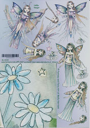 Betsy Lurvink knipvel Fantasy and Fairy GL6030 (Locatie: 4201)