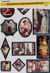 Creative cards 6 stansvellen victoriaanse motieven 30501 (Locatie: 6730)